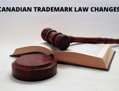 CHANGES TO THE CANADIAN TRADEMARK LAW